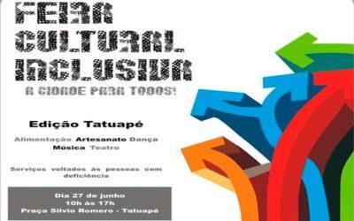 Feira Cultural Inclusiva noTatuapé