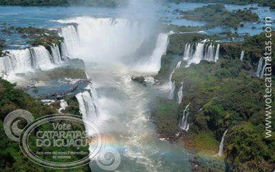 Vote nas maravilhas naturais brasileiras, localizadas nos destinos embreveturisticamenteacessíveis
