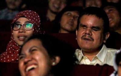 Indonesia's 'Whisper Cinema' brings movies to the blind