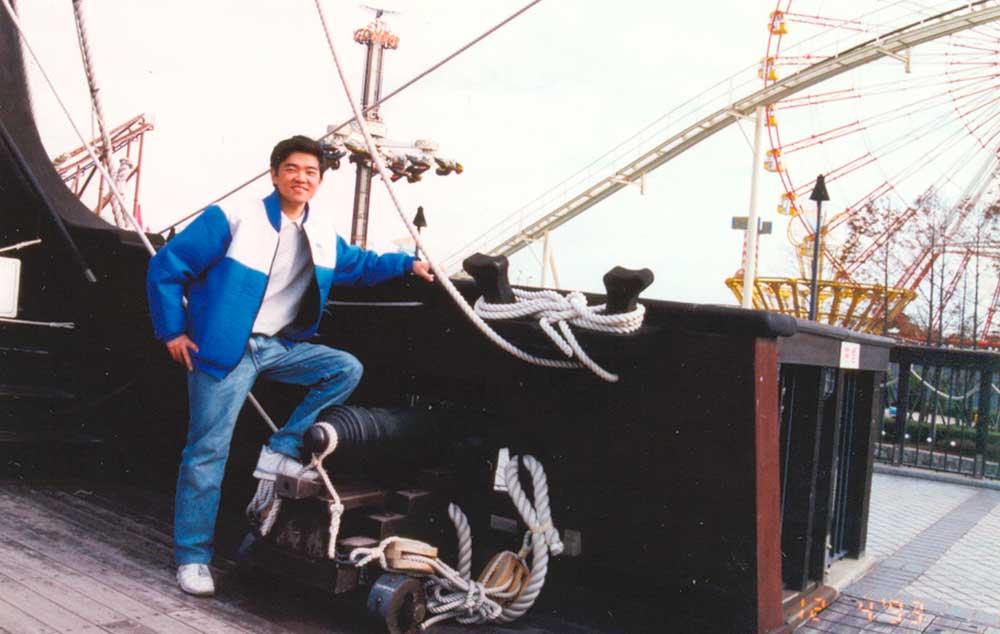 Navio em Portopialand no Japão 1993 #tbt