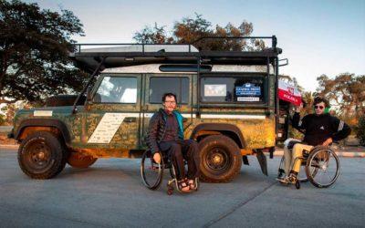 Cadeirantes viajam pelas Américas. Dois amigos enfrentam 45 mil km de aventuras.