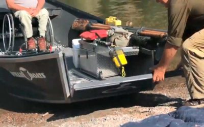 Montana's Rivers Assistive Technology. Helping disabled to access boats.
