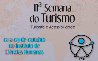 Semana do Turismo da UFJF. Turismo e Acessibilidade na Zona da Mata Mineira.