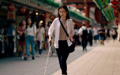 Google Maps para cegos. Navegação otimizada orienta a mobilidade autônoma.